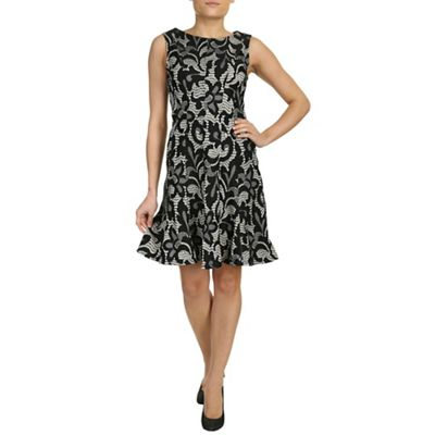 Chase 7 Multicoloured lace dress with contrast lining - . -