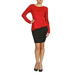 Indulgence - Red midi dress