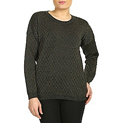 Mandi - Gold shimmery diamonds pullover