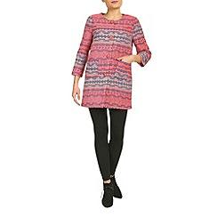 Jumpo London - Pink jazz pattern cardigan