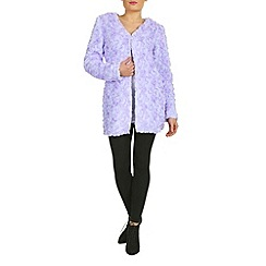 Jumpo London - Lilac rose lace cardigan