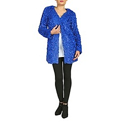 Jumpo London - Blue rose lace cardigan