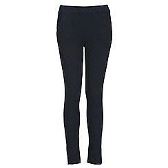 NandWillow - Navy butterfly trousers