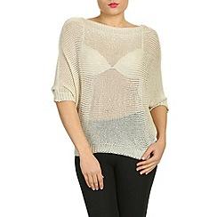 NandWillow - Beige easy knit