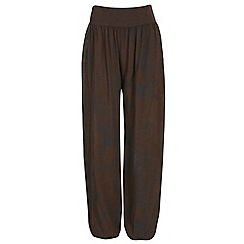 NandWillow - Dark brown fusion slouchies