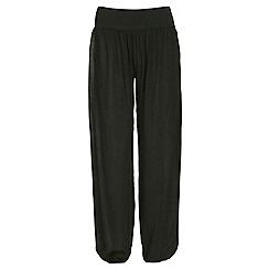 NandWillow - Black plain slouchies