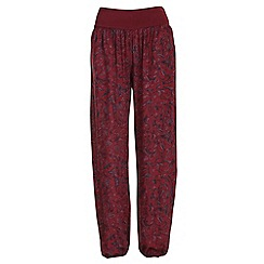 NandWillow - Wine tapestry slouchies