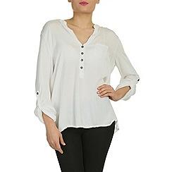 NandWillow - Beige easy blouse