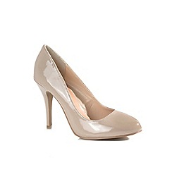 Alice & You - Natural court high heel shoes