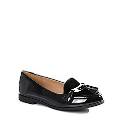 Alice & You - Black patent loafers
