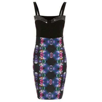 Damned Delux Multicoloured vogue dress - . -