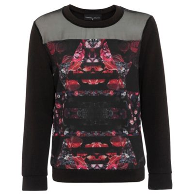 Damned Delux Black kalidescope sweat - . -