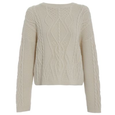 Damned Delux White chelsea knit - . -