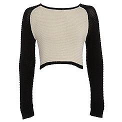 Damned Delux - Ivory millie knit