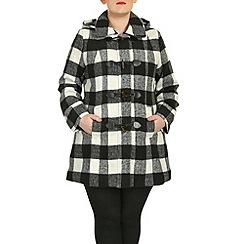 Samya - Multicoloured long sleeve hooded jacket