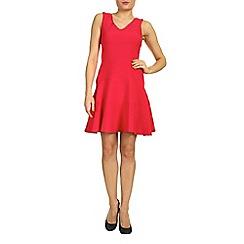 Closet - Pink closet v neck v back band dress