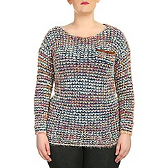 Samya - Multicoloured long sleeve multi coloured knitted