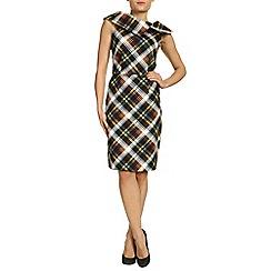 Jolie Moi - Yellow bardot neck bodycon dress