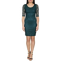 Alice & You - Blue lace layer midi dress