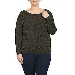 Samya - Gold shimmery diamonds jumper