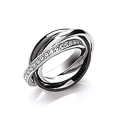 Buckley London - Silver russian ring