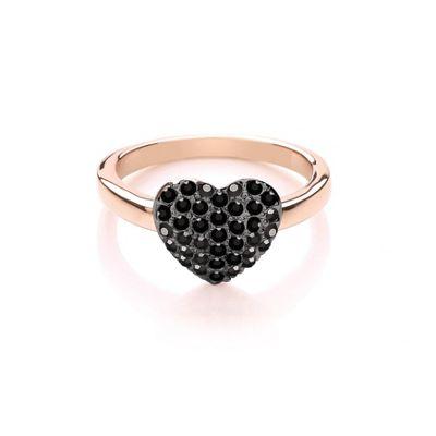 Buckey ondon Muticooured miniature heart ring - . -