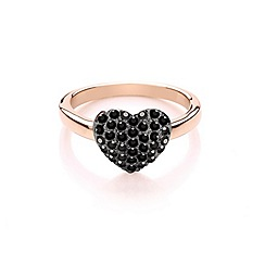 Buckley London - Multicoloured miniature heart ring
