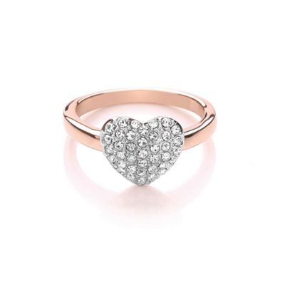 Buckey ondon Siver miniature heart ring - . -