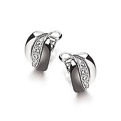 Buckley London - Silver russian earrings