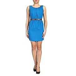 Alice & You - Petite sleeveless belted dress