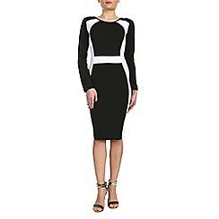 Indulgence - Black pencil dress