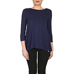 Izabel London - Navy knitted pullover