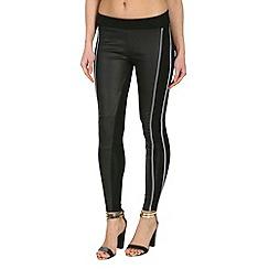 Jumpo London - Black white  piping leggings