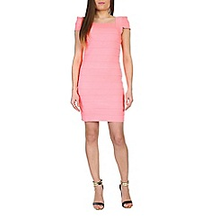 Jumpo London - Pink elastic bodycon dress