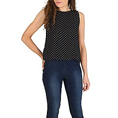 Sugarhill Boutique - Navy bella top