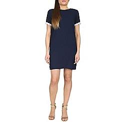 Poppy Lux - Navy valerie tunic dress