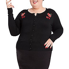 Voodoo Vixen - Black madison cardigan