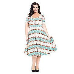 Voodoo Vixen - Cream faith dress