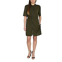 Alice & You - Khaki military shirt dress
