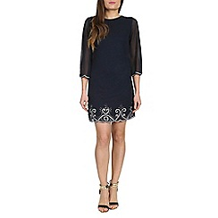 Alice & You - Navy embellished tunic dress