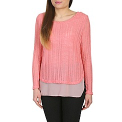 Izabel London - Pink long sleeve top