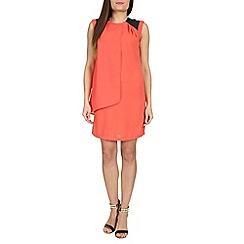 Izabel London - Orange crepe dress