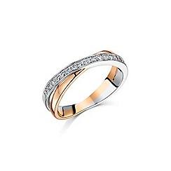 Buckley London - Gold linked loop ring