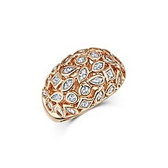 Buckley London - Rose mixed shape ring