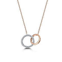 Buckley London - Gold linked loop pendant