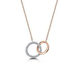 Buckley London - Gold linked loop pendant