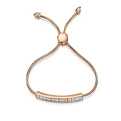 Buckley London - Rose cube friendship bracelet