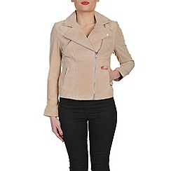 Barneys - Beige split jacket