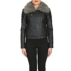 Barneys - Black faux fur jacket