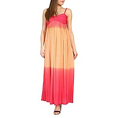 Izabel London - Orange tie effect maxi dress